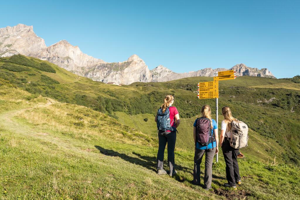 Wanderinnen Alp Grat 2